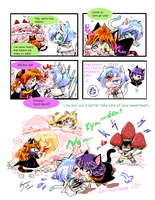 Slayers Kittens: thanks Blaze by EugeneCh