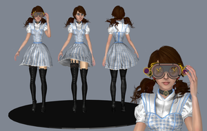 Dorothy from OZombie, Wip1 by tombraider4ever