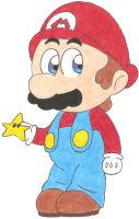 It's-a me, Mario by Lulikat15