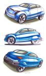 Car Marker Rendering by MartinEDesign