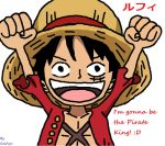 Chibi Luffy by PikachuStar93