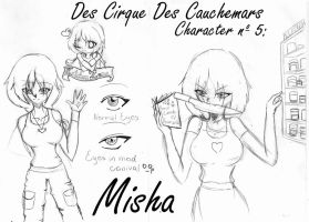 Character 5: Misha by Angie-MR