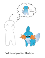 I am Mudkip by sellina123