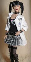 NCIS Abby Sciuto Custom Doll by ShannonCraven