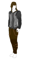Outfit Adopt - Modern Apocalypse - SOLD by ShadowInkAdopts