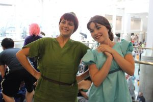 Peter and Wendy by SlightlyIdentical