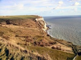 White Cliffs of Dover by maxwellstardust