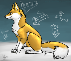 Practice Stuffs for Great Glory by NorthboundFox