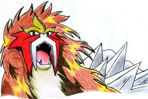 Pokemon Entei by konrei-sama