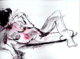 Woman relaxing  LProctor by LaurieLefebvre