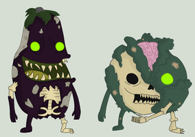 Adoptables - Zombie Produce #3 by Ask-The-Great-Kazaa
