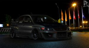 Mitsubishi Lancer Evolution IX-MR by ChitaDesigner