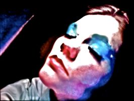 Bowie:Life on Mars Makeup8 by TimeLordmk