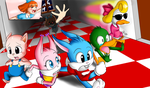 TINY TOONS! :D by QuesoGr7