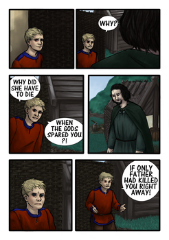 Vikings fan comic page two by Miagola