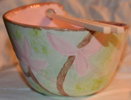 Cherry Blossom Bowl Side 3 by Wingedisis16