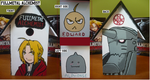 FMA painted Birdhouse by sybersweetheart