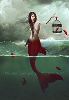 Queen Of Sea III by MirellaSantana