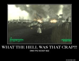 What the hell is that crap!!-Fallout 3 demote- by RoninHunt0987