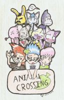 Animal Crossing by Mister-Saturn