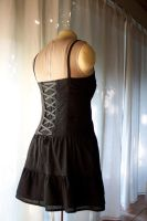 Corset Sundress Back by volatilevisions
