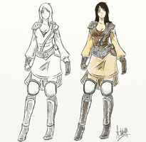 The First Blight: Sariel Armor by Ainwen27
