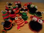 crochet Monsters by Twinsmanns