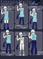 Bribble Outfits by bribble