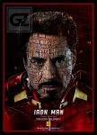 Iron Man_Typography poster_by GZ by GregoryZelensky
