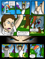 Tsundere Rainbow Dash: Page 1 by usernameirrelevant