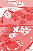 Birds and Cars by jcho