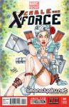 Lady Cable (Cable and X-Force #001) sketchcove2014 by amanojyaku