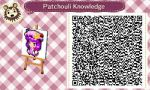 Patchouli Knowledge QR Code by GreenEyedYoshika