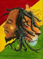 Bob Marley by Princess--Jasmine