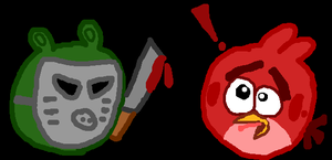 +Friday the 13th with the Angry Birds+ by NoahandHaroldsgirl