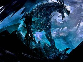 Ice Dragon by Lulztroll87