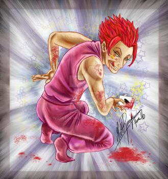 Hisoka by norsepearl
