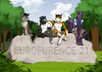 Commission: Group picture EF21 by Anupap