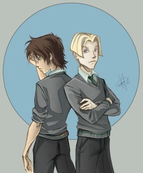 Draco  Harry- Enemies by clefchan