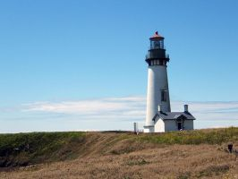 Yaquina Lighthouse by CoffeeDaze