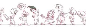 Really Boring Line Up by Sibsy