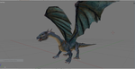 Saphira request 3d downloadable version by Wonderful-dragons