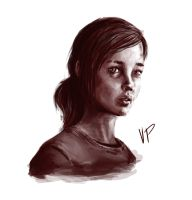 The Last Of Us Digital Painting - Ellie by stumpy32