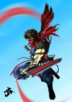 strider hiryu legend by tuljin