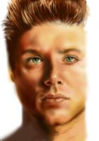 Jensen Ackles Clean by Frog27