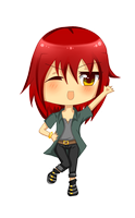 Chibi Kano for Naomi-999 by miracm4