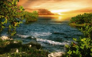 Fantasy BG 2 sea stock by irinama