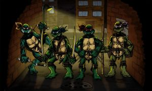 Teenage Mutant Ninja Turtles by BenSmith128