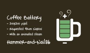 Coffee Battery (Edited) by SmallTinyApps