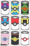 Pokeball Soup Cans by zimmay
